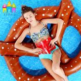 Baby Pretzels Pizza Abacaxi Donut Natação Ring Pretzel Pool Floats