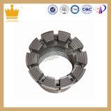 El cable metálico impregnó dígitos binarios de diamante impregnados del dígito binario de taladro de la base del diamante