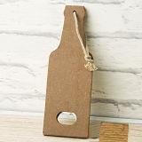 خشبيّة [بير بوتّل] شكل [مولتيفول] وظيفيّة جدار لوح