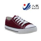 Chaussures de toile fondamentales classiques de coupure du bas de type pour l'adulte et les enfants Bf161043
