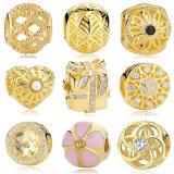 13 Juwelen van de Halsband DIY van de Armband van de Charme van Liefde 925 van stijlen de Authentieke Echte Zilveren Geschikte Originele