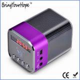 Riga altoparlante di Bluetooth di esposizione di FM LED nel mini (XH-PS-648)