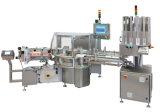 Machine de remplissage carrée ronde de machine à étiquettes de bouteille