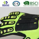 Handschoen van het Werk van de Veiligheid van de besnoeiing de Bestand met Nitril Coate