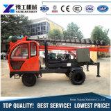 小売りのトラックによって取付けられる回転式ガードレールの杭打ち機およびフレームの杭打ち機装置