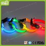 Colar personalizado alta qualidade do diodo emissor de luz do cão