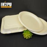 Плита устранимого обеда Tableware бумажная