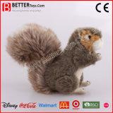 Het realistische Gevulde Dierlijke Stuk speelgoed van de Eekhoorn van de Pluche voor de Jonge geitjes van de Baby