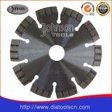 鋸歯: 125mmのコンクリートのためのレーザーによって溶接される鋸歯
