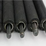 Boyau en caoutchouc avec les constructeurs tressés de fil d'acier