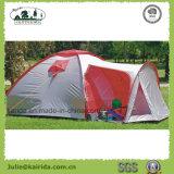 居間が付いている4人の二重層のキャンプテント