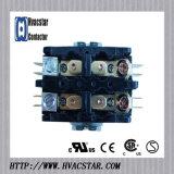 Elektrischer magnetischer 2 definitiver Zweck-Kontaktgeber Pole-30A 24V