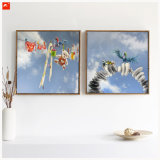 Carton Wall Picture Blue Sky Affiche d'art