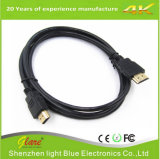 Nylonkabel des deckel-Doppelt-Schild-HDMI