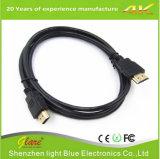 Nylon кабель экрана HDMI двойника крышки