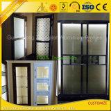 Profilo di alluminio di alluminio personalizzato del portello scorrevole per vita dell'interno/esterna