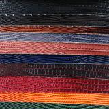 Cuoio della tappezzeria della lucertola di alta qualità per la borsa del sacchetto (YB008)