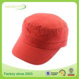 Baumwollkundenspezifische preiswerte flache Rand-Hysteresen-Schutzkappe 100% und Hüte