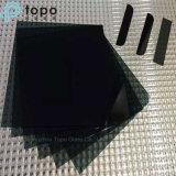 Vidro de folha matizado preto para o vidro decorativo (CB)