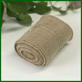 Rolo de tecido de juta natural de fibra de juta de 100%