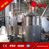 equipo de la destilación del ron del brandy del whisky de la chaqueta del vapor 500L con el Ce aprobado