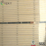 Изолированная жарой панель стены сандвича PU пены для доски холодной комнаты