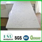 Le superfici Polished venato le lastre di marmo artificiali di Quarartificial Stonene dell'accumulazione
