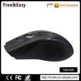 Ratón superior sin cuerda negro de la PC de la mano derecha 2.4GHz