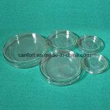 Plat en verre de Petri pour laboratoire / médical avec diverses spécifications