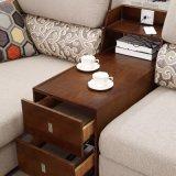 Canapé en tissu de salon de design moderne Aménagement de chambre d'hôtel -Fb1112