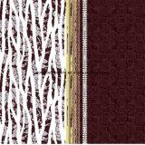 100%Polyester抽象的なラインPigment&Disperseは寝具セットのためのファブリックを印刷した