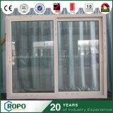 Porte coulissante en plastique de type neuf avec la double glace glacée isolante