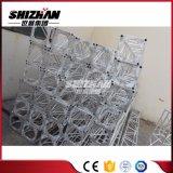 Shizhan 300*300mm三角形が付いている小さい正方形アルミニウムボルトはまたはねじトラス版を増強する