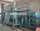 Planta de recicl suja do petróleo de motor, planta de destilação do petróleo de motor, planta da purificação de petróleo do motor