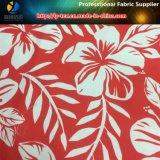 Stampa tropicale del fiore sul poliestere Microfiber per la camicia o il Beachwear (YH2130)