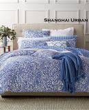 旧式なデザインによって印刷される綿の寝具