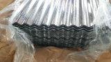 Feuilles en acier ondulées de toiture de Galvanzied/panneau ondulé en acier galvanisé de toit