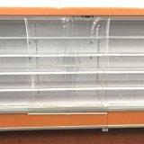 geöffneter Bildschirmanzeige-Kühlraum des Handelssupermarkt-110V mit Luft-Vorhang