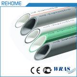 上水道のための白いおよび緑色PPRの管そして付属品
