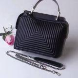 2017 populärer echtes Leder-Handtaschen-Frauen-Tendenztote-Beutel des Dame-Beutel-100% mit Kette Emg4944