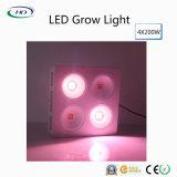 4*200W 옥수수 속 LED는 상업적인 작물을%s 가벼운 가득 차있는 스펙트럼을 증가한다