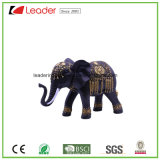 Estátua por atacado do elefante de Polyresin para a decoração Home e o presente relativo à promoção