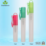 botella plástica colorida 5ml para el empaquetado del perfume
