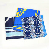 Signora di seta Silk Square Scarf delle sciarpe stampata abitudine