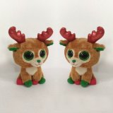 Cute Deer Peluche Toy Christmas Stuffed Toy
