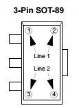 Circuito integrado linear do regulador de tensão CI Mcp1701at-3302I/MB