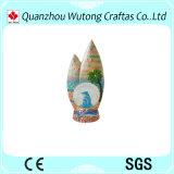 Покрашенный вручную смолаа производит глобус воды сувениров украшения дома типа океана глобуса снежка
