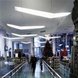 2017 Wholesale Lampes pendentif en acrylique blanc pour l'éclairage suspendu de bureau