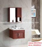 Dunkler Brown-Farben-materielle Badezimmer-Aluminiumschränke (8200)