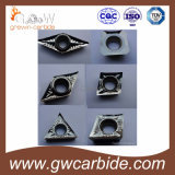 Покрытие CVD PVD вставок карбида вольфрама Indexable
